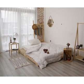 giường gỗ thông pallet